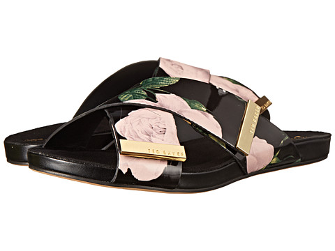 Ted Baker - Soaved (Black Multi) Women's Slide Shoes