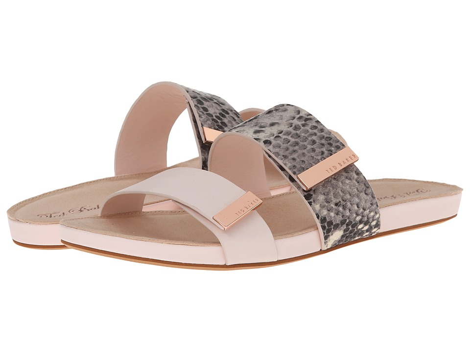 Ted Baker - Reisling (Nude/Black Exotic) Women's Slide Shoes