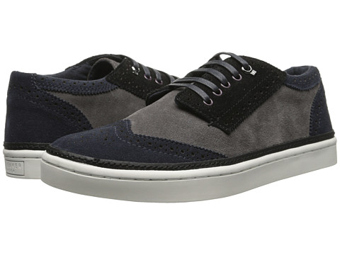 Ted Baker - Byran (Dark Blue/Grey Suede) Men's Shoes