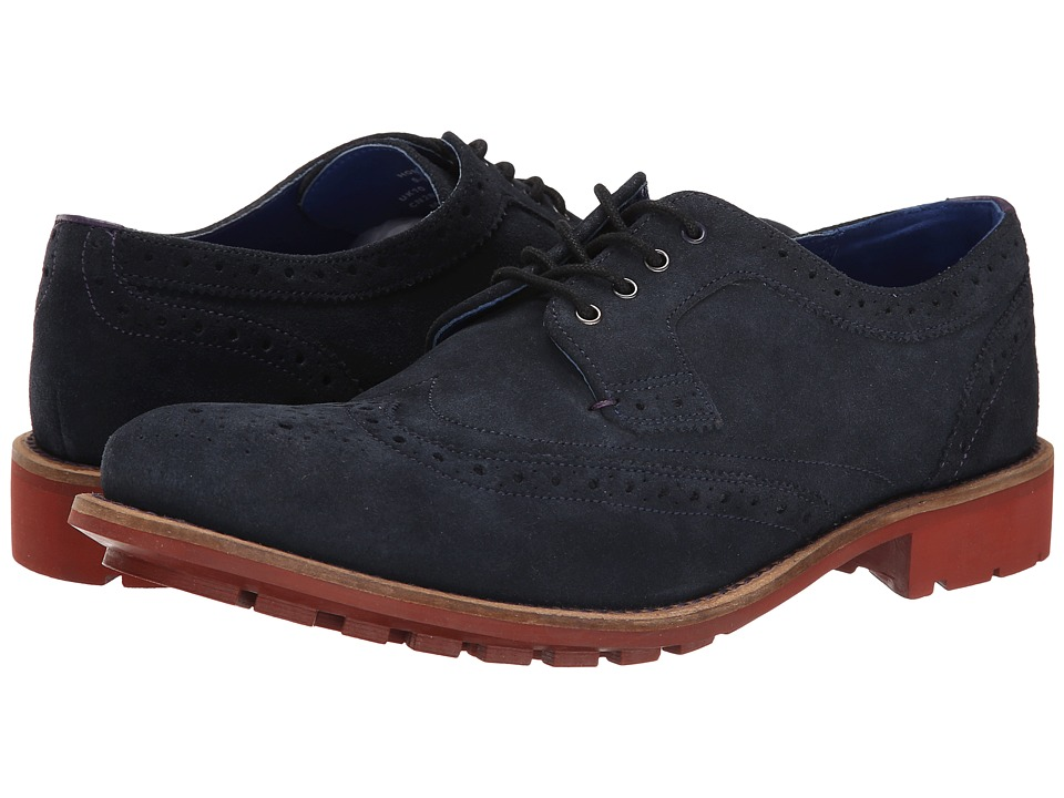 Ted Baker - Hontarr (Dark Blue Suede) Men's Shoes