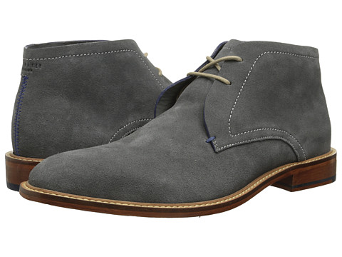 Ted Baker - Torsdi 3 (Dark Grey Suede) Men's Shoes