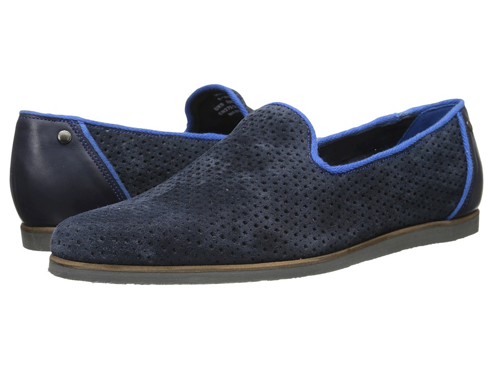 Ted Baker - Oshua (Dark Blue Suede) Men's Shoes