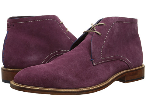 Ted Baker - Torsdi 3 (Dark Purple Suede) Men's Shoes