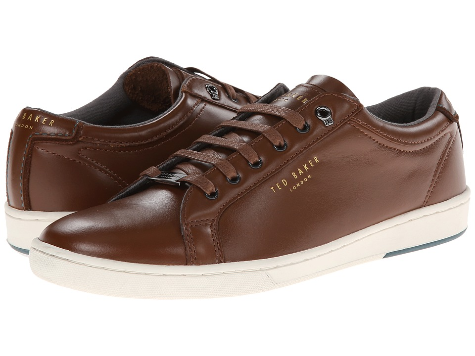 Ted Baker - Theeyo (Dark Tan Leather) Men's Lace up casual Shoes