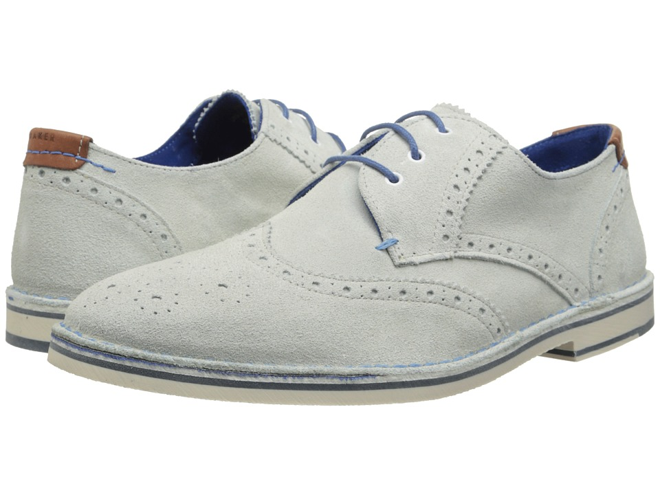 Ted Baker - Jamfro 5 (White Suede) Men's Shoes