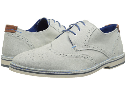 Ted Baker - Jamfro 5 (White Suede) Men