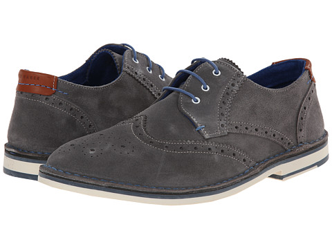 Ted Baker - Jamfro 5 (Dark Grey Suede) Men's Shoes