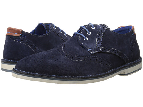 Ted Baker - Jamfro 5 (Dark Blue Suede) Men's Shoes