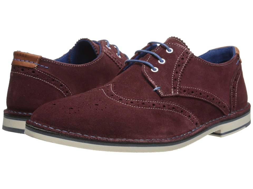 Ted Baker - Jamfro 5 (Drk Pink Suede) Men's Shoes