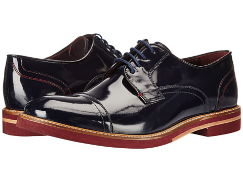 Ted Baker - Layke (Dark Blue High Shine) Men's Shoes