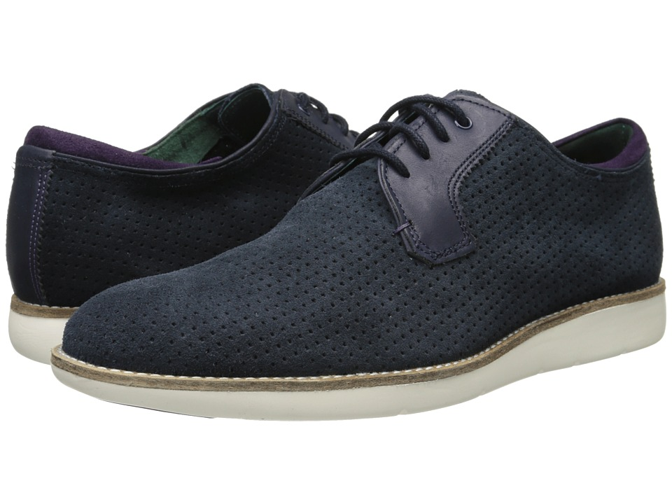 Ted Baker - Caluum (Dark Blue Suede) Men's Shoes