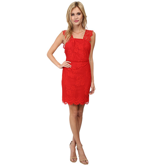For Love and Lemons - Tiki Bar Cocktail Dress (Cherry Red) Women