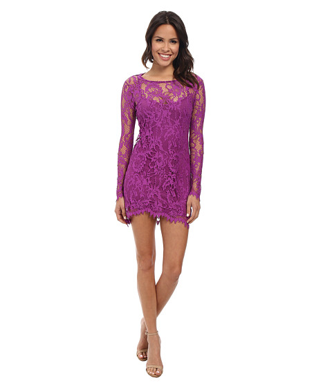 For Love and Lemons - Maui Waui Mini Dress (Purple Orchid) Women