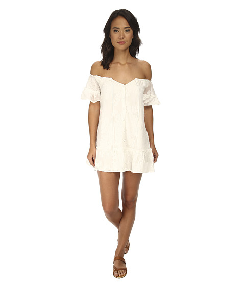 For Love and Lemons - Pina Colada Mini Dress (White) Women's Dress
