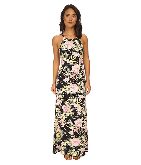 For Love and Lemons - Palms Maxi Dress (Paste Palm Floral) Women's Dress