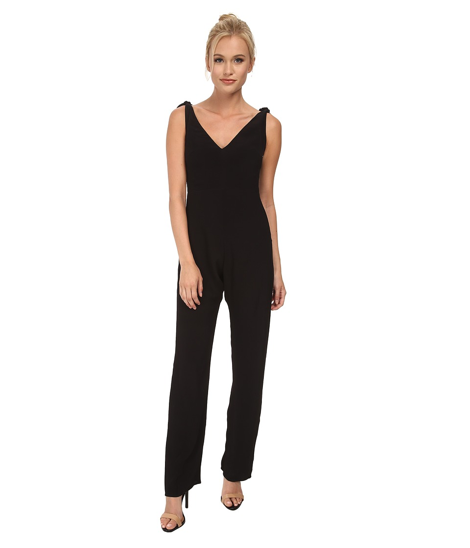 For Love and Lemons - Midnight Tide Jumpsuit (Black) Women's Jumpsuit & Rompers One Piece
