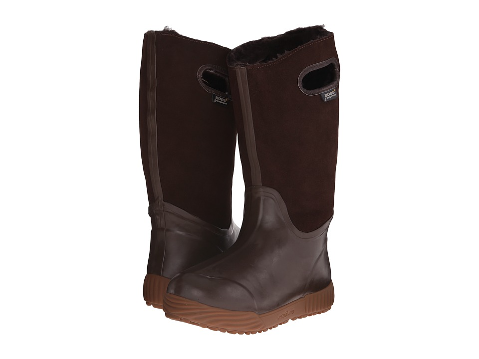 Bogs - Prairie Tall (Brown) Women's Rain Boots