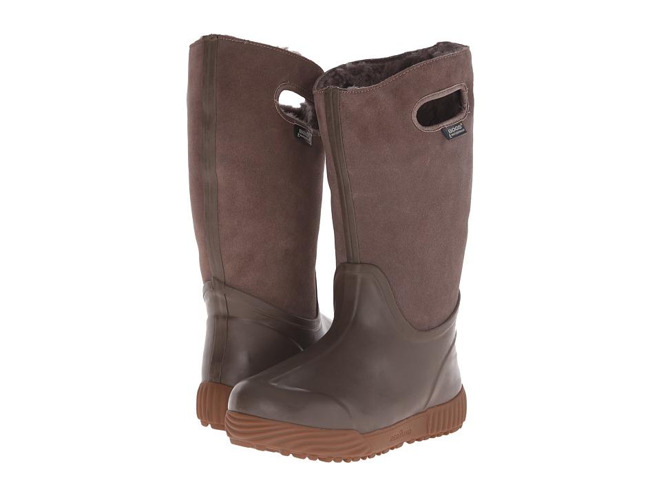 Bogs - Prairie Tall (Mushroom) Women's Rain Boots