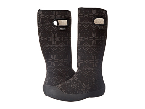 Bogs - Summit Sweater (Black) Women's Rain Boots