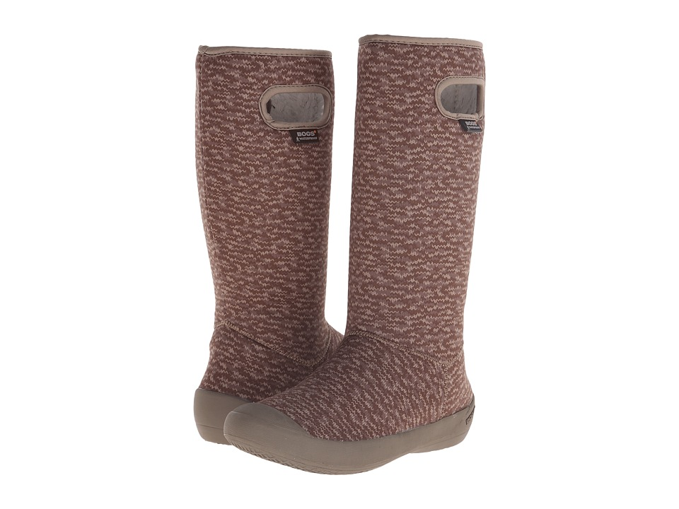 Bogs Summit Knit (Taupe) Women