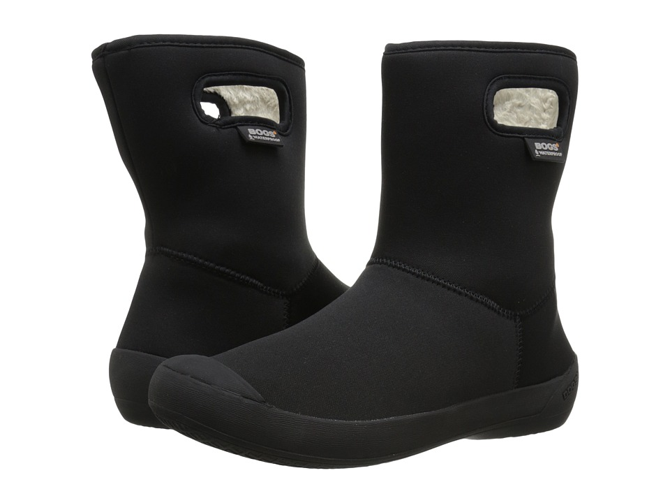Bogs - Summit Mid (Black) Women's Rain Boots