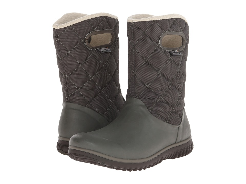 Bogs - Juno Mid (Dark Green) Women's Cold Weather Boots