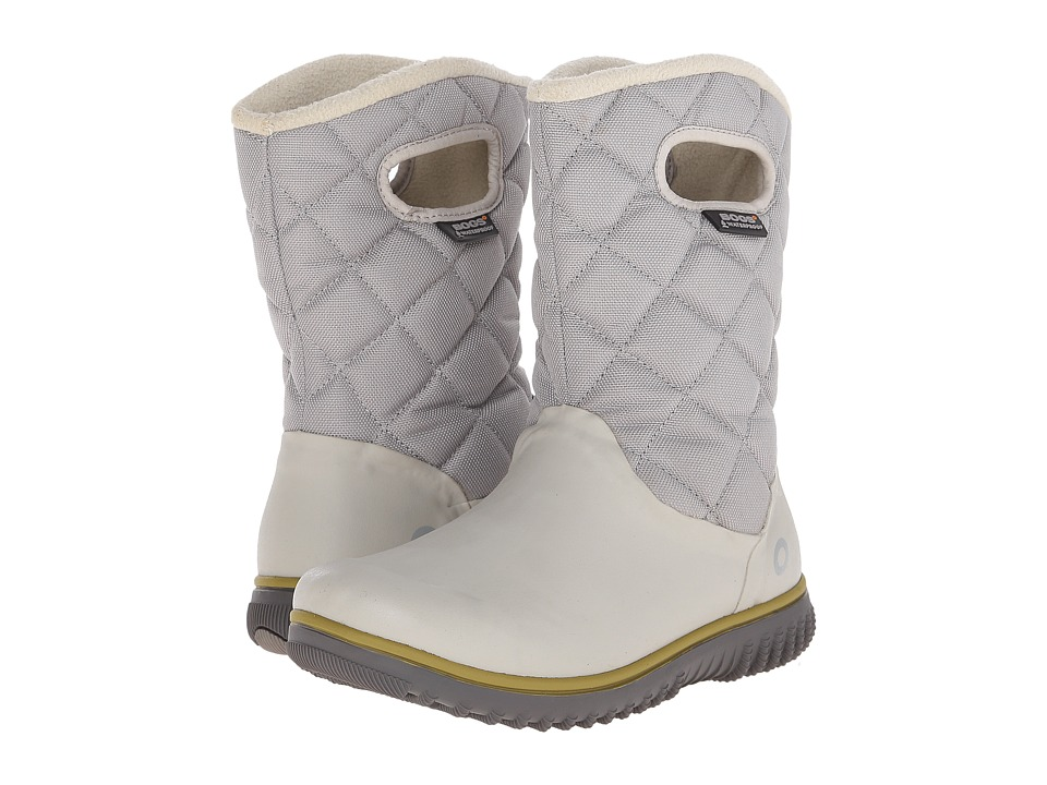 Bogs - Juno Mid (Light Gray) Women's Cold Weather Boots