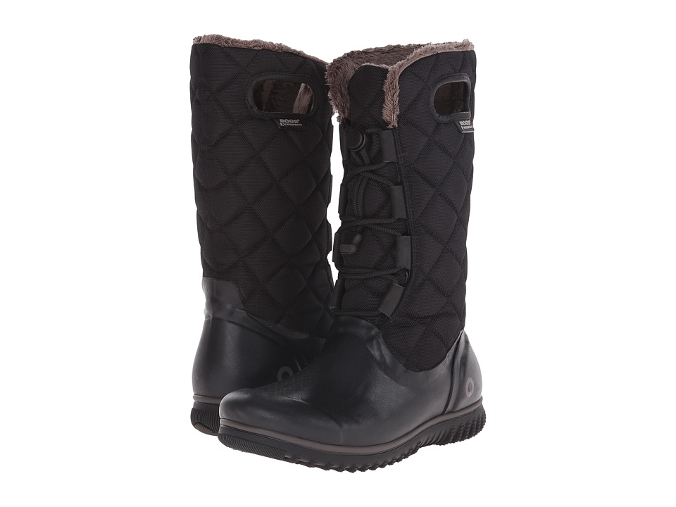 Bogs - Juno Lace Tall (Black) Women's Cold Weather Boots