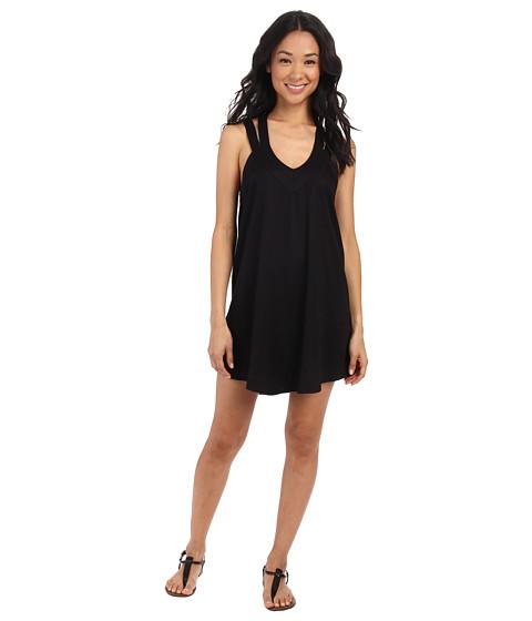 RVCA - Tunnel Vision Sleeveless Dress (Black) Women's Dress