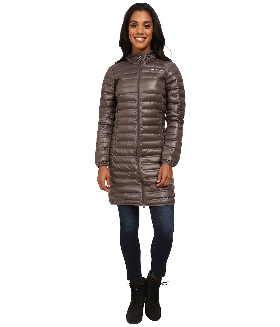 Columbia - Flash Forward Long Down Jacket (Mineshaft) Women's Coat