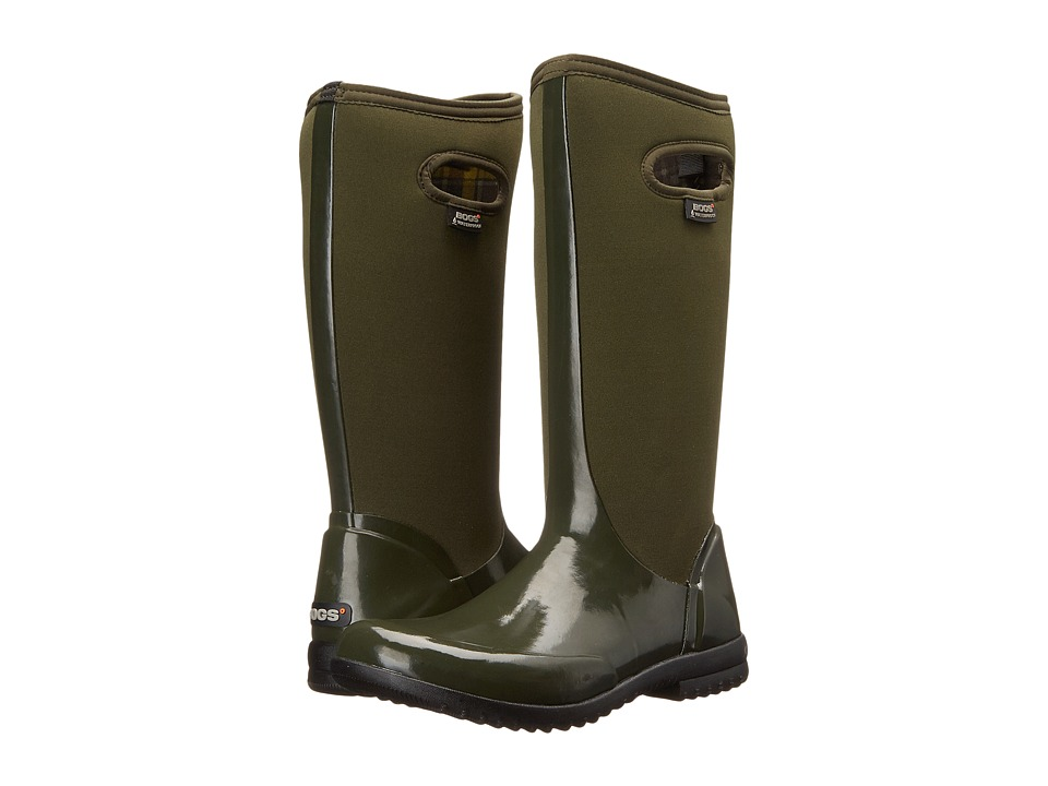 Bogs - Sidney Solid Tall (Dark Green) Women