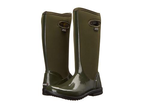 Bogs - Sidney Solid Tall (Dark Green) Women
