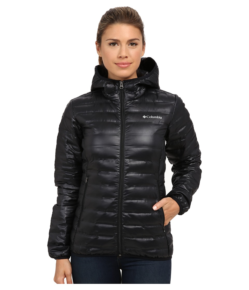 Columbia Flash Forwardtm Hooded Down Jacket (Black) Women