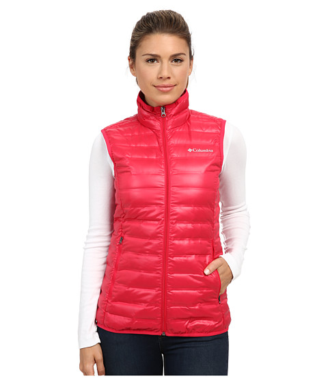 Columbia - Flash Forward Down Vest (Ruby Red) Women's Vest