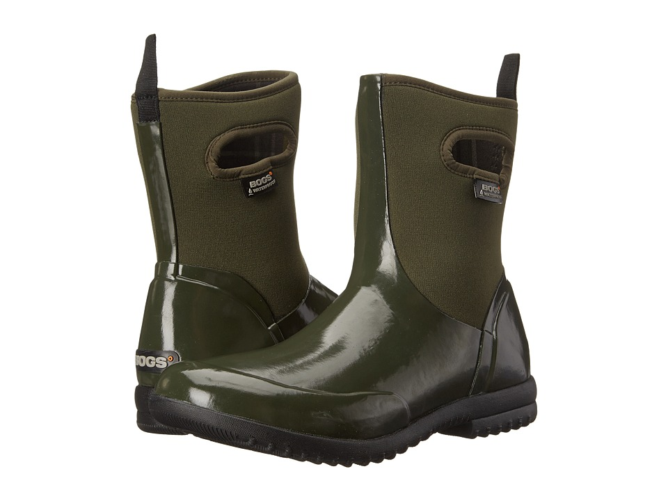 Bogs Sidney Solid Mid (Dark Green) Women