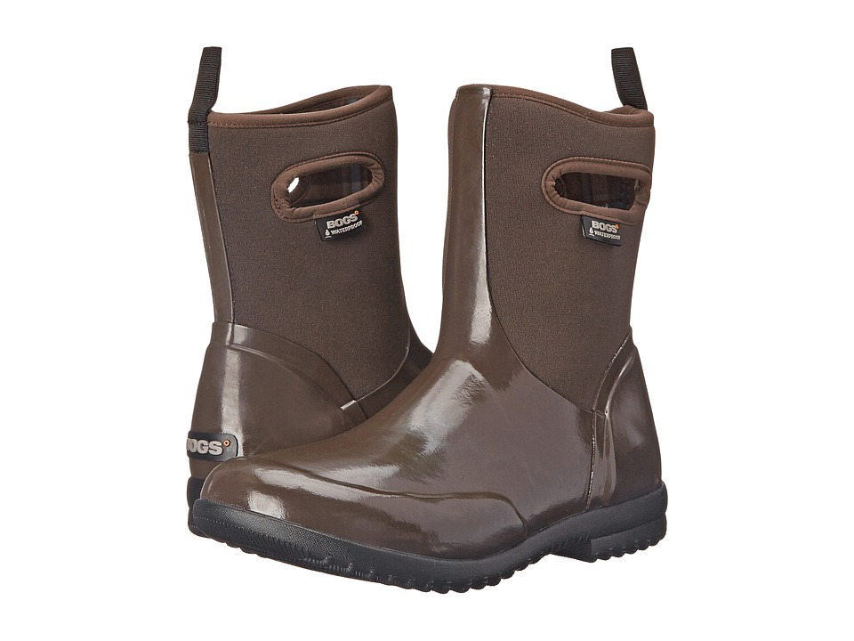 Bogs Sidney Solid Mid (Brown) Women