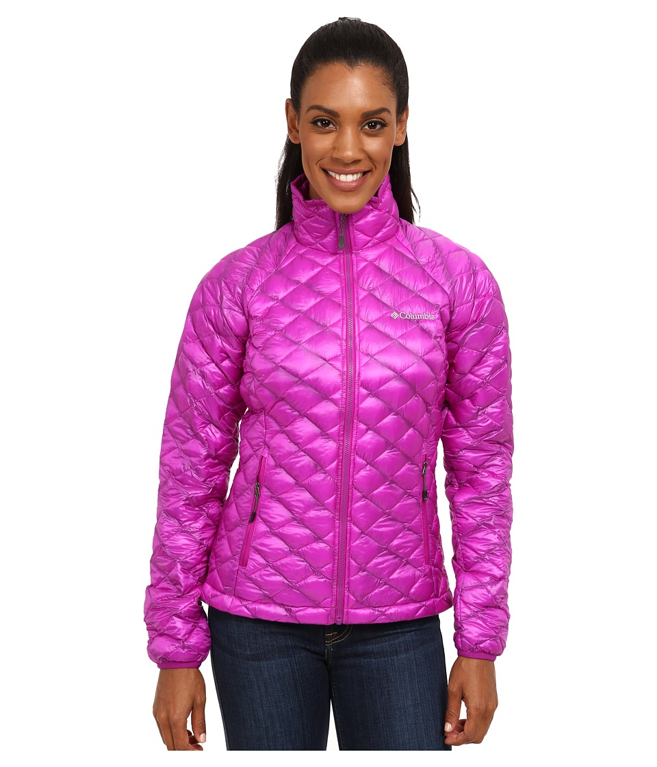 Columbia - Microcell Jacket (Bright Plum) Women's Coat