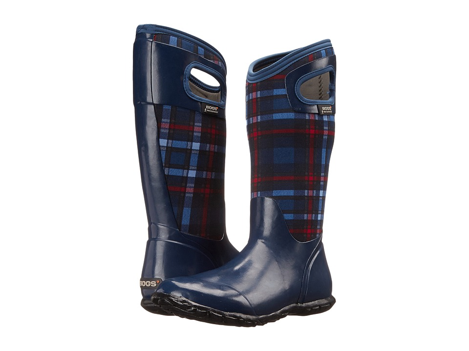 Bogs - North Hampton Plaid (Dark Blue Multi) Women