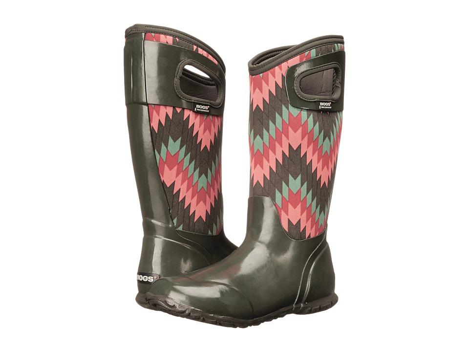 Bogs - North Hampton Native (Loden Multi) Women's Waterproof Boots
