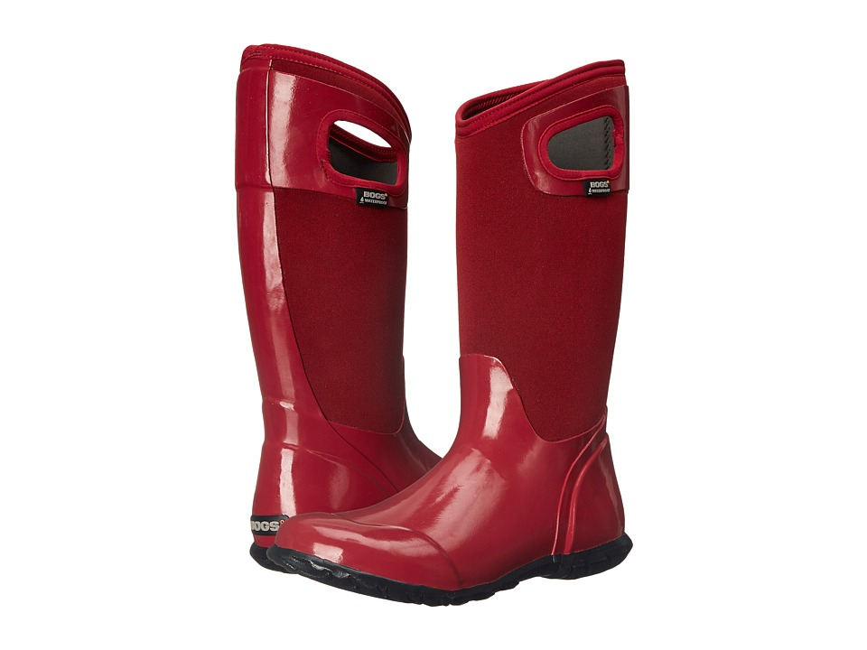 Bogs - North Hampton Solid (Red) Women