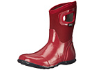 Bogs North Hampton Solid Mid (Red)