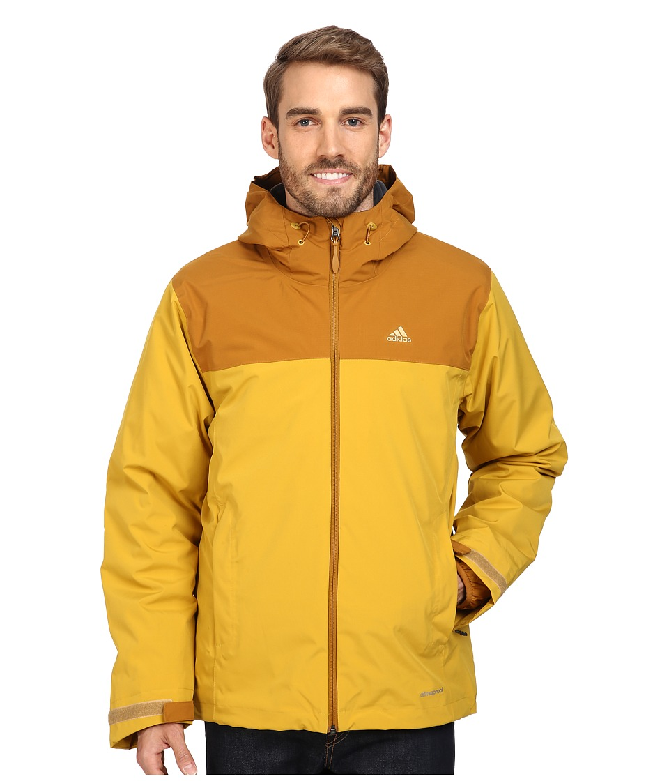 adidas Outdoor - 3-in-1 Insulated Wandertag Jacket (Gold Ochre) Men's Coat