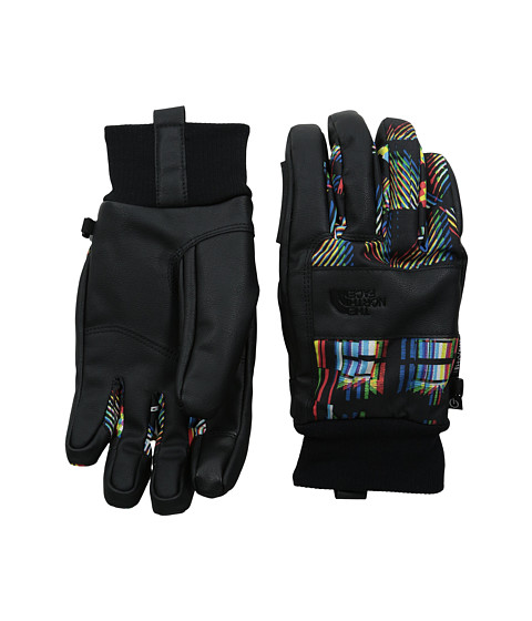 The North Face - Freeride Work Etip Glove (TNF Black/TNF Black Glitch Print) Extreme Cold Weather Gloves