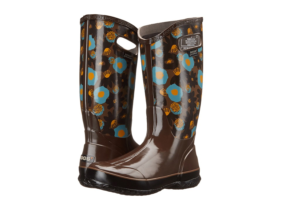 Bogs Watercolor Rain Boot (Brown Multi) Women