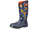 Bogs Watercolor Rain Boot (Dark Blue Multi)