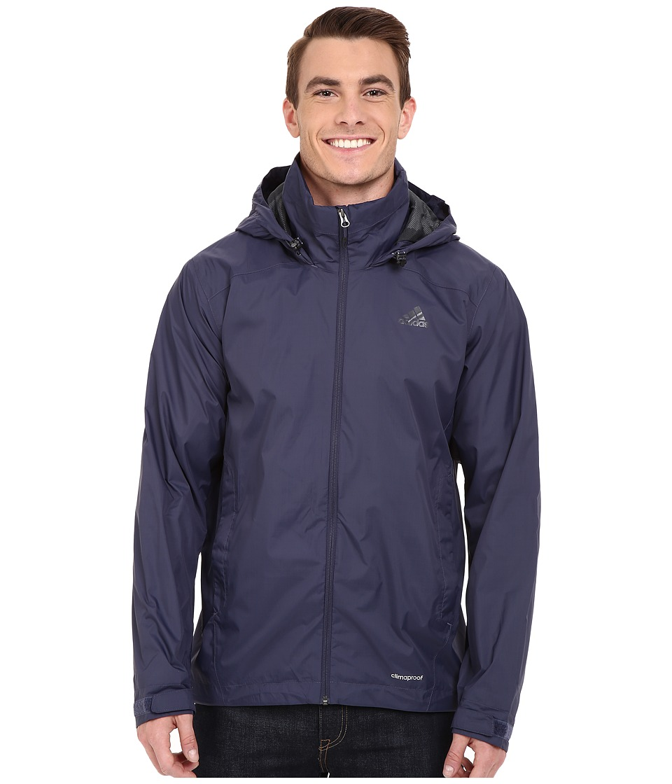 adidas Outdoor - Wandertag Jacket (Midnight Grey) Men's Coat