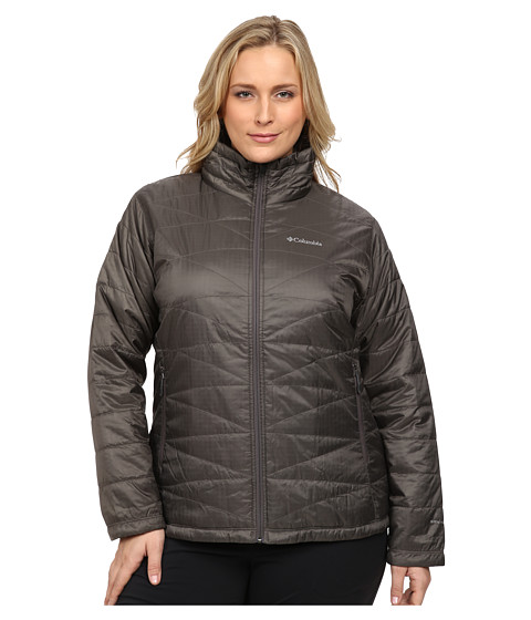 Columbia - Plus Size Mighty Lite III Jacket (Mineshaft) Women's Coat