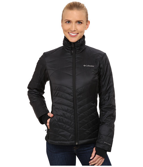 Columbia - Mighty Lite Hybrid Jacket (Black) Women's Coat