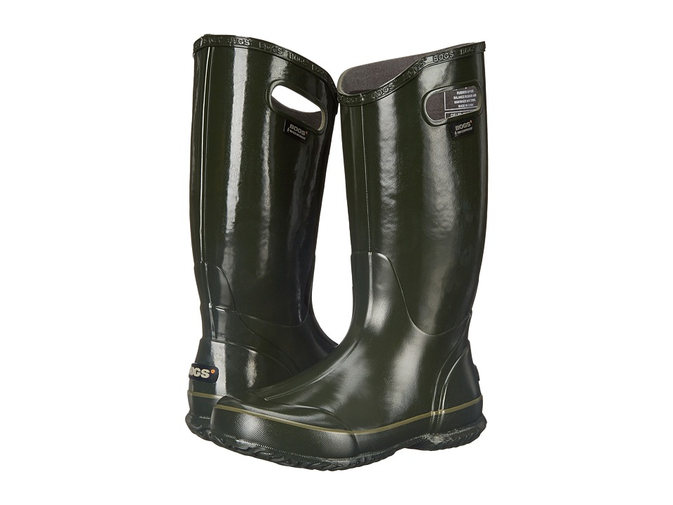 Bogs Classic Glosh Rainboot (Dark Green) Women