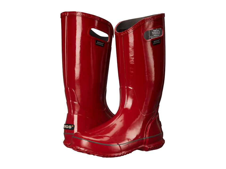 Bogs Classic Glosh Rainboot (Red) Women